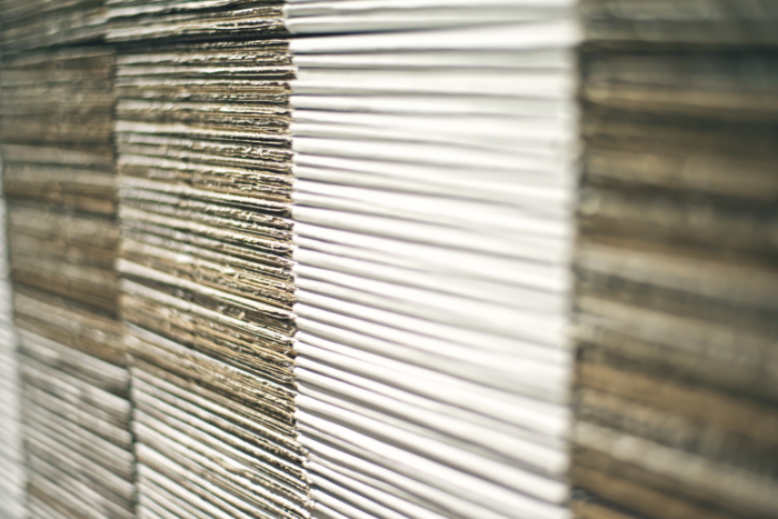 Kartonové krabice - detail