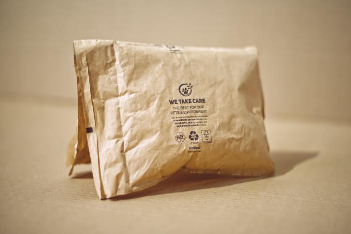 Papírové vzduchové polštáře