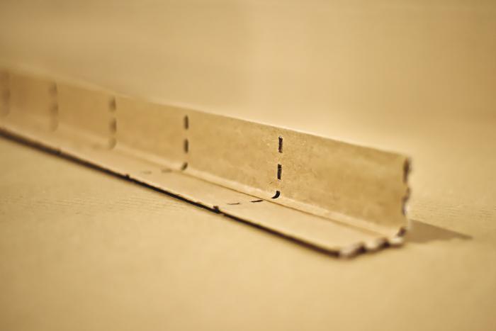 Perforované papírové hrany