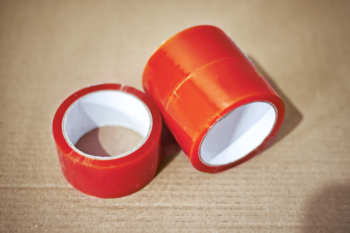 Jednobarevná lepící páska