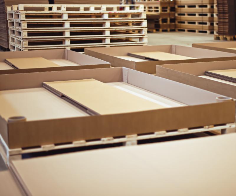 Exportní balení paletové boxy