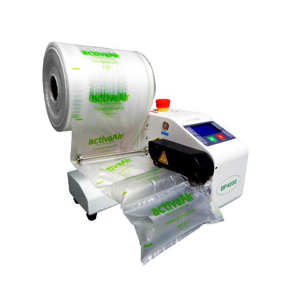 Stroj na vzduchové polštáře