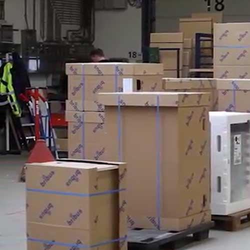 Ukázka balení nábytku - případová studie